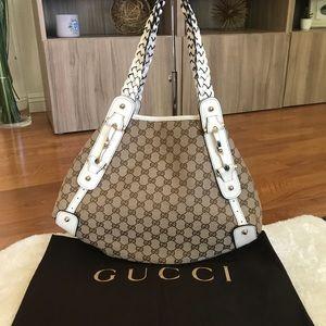 🔥Authentic Gucci Pelham GG Monogram Tote